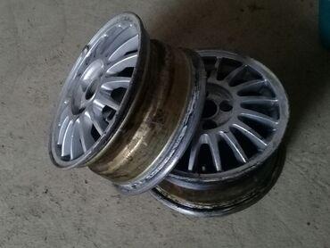 титановые диски r14 в Кыргызстан: Продаю титановые диски R14 2шт