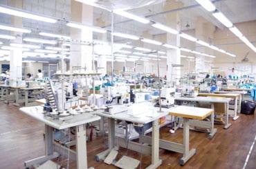 Аренда заводов и фабрик в Кыргызстан: Продаю швейный цех. Есть все для работы: прямострочки, спецмашины, утю