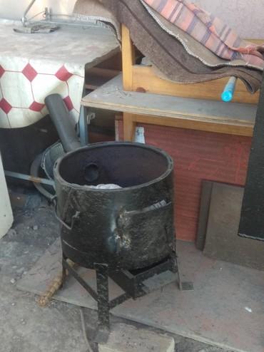 промышленный печь в Кыргызстан: Печь для казана!