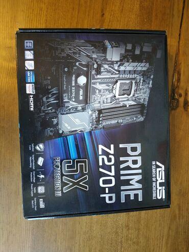Продаю материнскую плату Asus Z270-P2 слота PCI EXPRESS2 слота