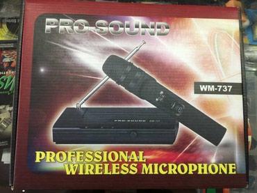 Bakı şəhərində Pro-sound kabelsiz mikrofon  10-20 metrlik tam tutum