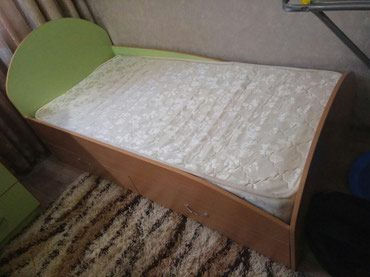 Кровать детская 1.65/0.80 в хорошем в Бишкек