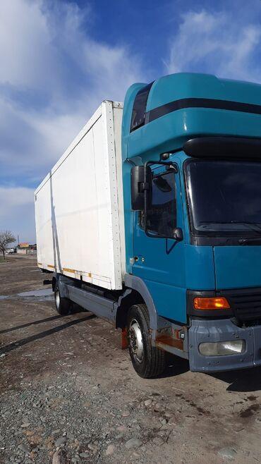 толь цена в бишкеке в Кыргызстан: Мерседес Атего 12 18 2004года Колесо: 19.5 Фургон. Длина:7,50 Объем: 4