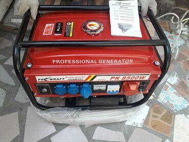 Генераторы - Кыргызстан: Немецкий электрогенератор новый в упаковке 8,,5 киловат торг уместе