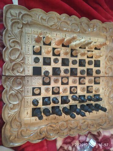 Нарды - Кыргызстан: Продаю нарды +шахматы реальному покупателю цену скину