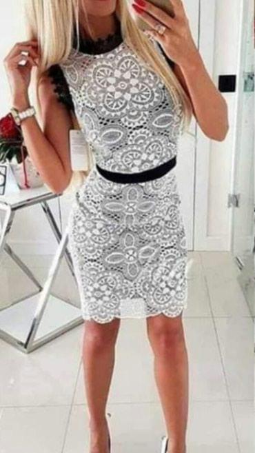 ×NOVO sa etiketom svi artikli divna moderna cipkana haljina - Beograd - slika 2