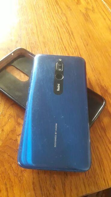Электроника - Таш-Мойнок: Xiaomi Redmi 8   64 ГБ   Синий   Сенсорный, Отпечаток пальца, Две SIM карты