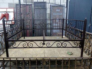 Садовая мебель в Кыргызстан: Тапчан 2*2м, компактный, разборный, цена с полом из ОСБ толщиной 15 мм