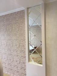 Зеркальные панели любой сложности  Просьба звонить в Бишкек