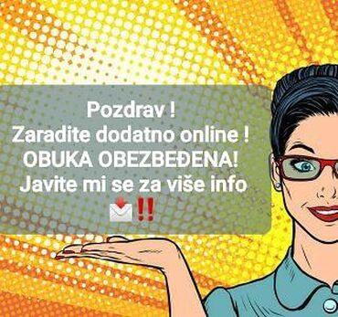 Dajem posao - Beograd: USLOVI SU : kompjuter ili laptopinteresovanje za