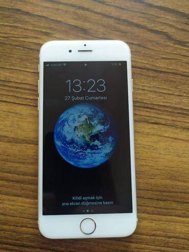 İşlənmiş iPhone 6 16 GB Cəhrayı qızıl (Rose Gold)