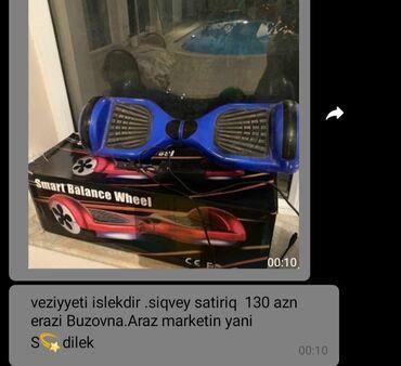 İdman və istirahət Ceyranbatanda: Giroskuter, segwey, elektrik skuterləri