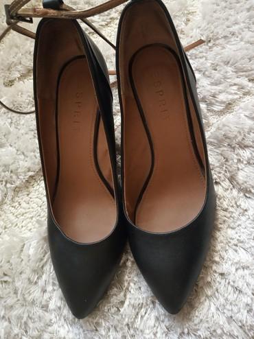 черное платье размер 38 в Кыргызстан: Кожаные туфли отличного качества. Фирма Esprit. В идеальном