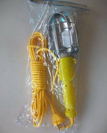 Rucna lampa sa produznim kablom Duzina kabla je 10 metara. Odlicna - Boljevac