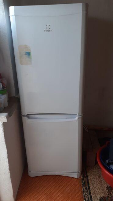 Б/у Двухкамерный Белый холодильник