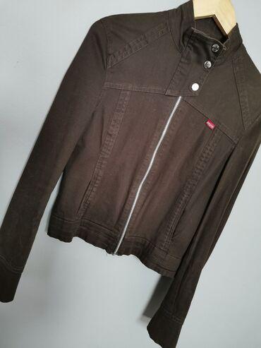 Polovna braon jakna Brend Jump&Fish Bez ostecenja Velicina XL(po