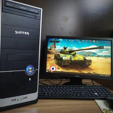 материнская плата сокет 1155 купить в Кыргызстан: Бюджетный Компьютер для Танков!!Характеристики:+Процессор: Intel