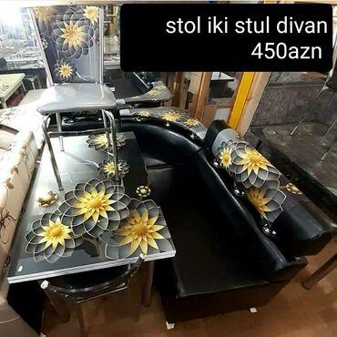 çarpayıya bitişik stol - Azərbaycan: Metbex desti Stol stul ve divan Reng seçimi var Masa acilan ve
