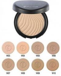 Kosmetika - Xırdalan: Kompakt kirsan-nem sungerle cekildikde kosmetik qusurlari mukemmel