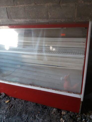 витринный холодильник купить в Кыргызстан: Б/у Холодильник-витрина Красный холодильник