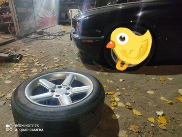 диски бу r17 в Кыргызстан: Продаю бмв диск шнитцер R17 с шинами