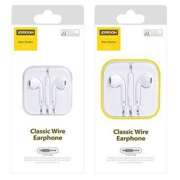Фирменные наушники Joyroom EarPods