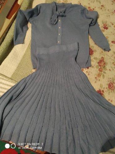 Женская одежда в Нарын: Продается очень красивая кофточка с юбочкой всего за 700с Новая
