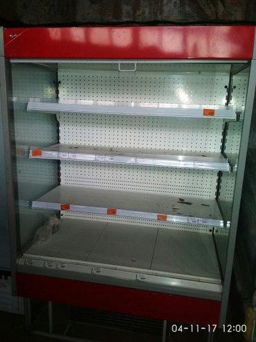 холодильная горка витринный для тортов , молочной и колбасной продукци в Бишкек