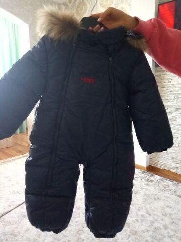 Зимняя куртка от Fendi оригинал,пару раз одевалиа также при себе