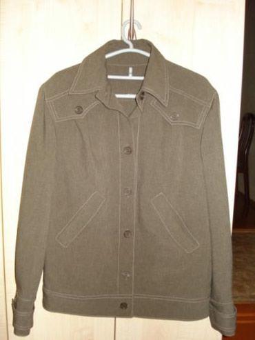 Куртка легкая (коричневая) - размер 46-48 в Бишкек