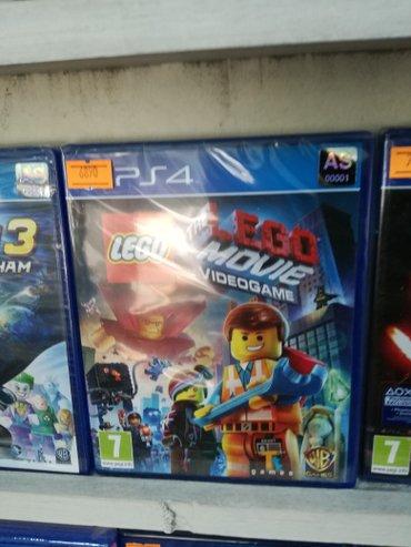 Bakı şəhərində Lego movie
