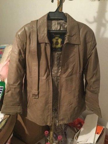 Женская кожаная куртка. цена 1500 сом в Бишкек