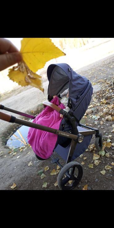 Детский мир - Красная Речка: Продаю коляску . Торг уместен.Пользовались год . Покупали за 19000. Со
