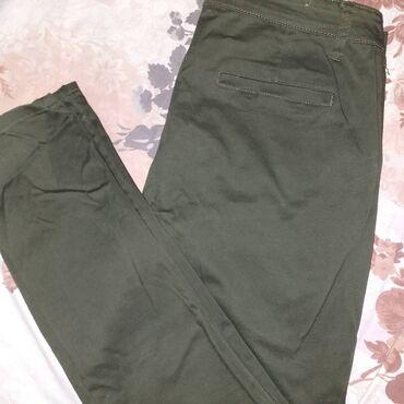 Bele pantalone - Srbija: Tamno zelene i braon pantalone,u odlicnom stanju, kao nove, bez ostece