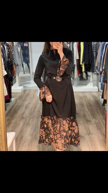Новое,турецкое платье!Размер :40(Л)Длина -мидиРемешок в комплекте