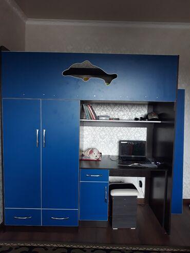 Детская мебель - Состояние: Новый - Бишкек: Продаю детский кровать состояние как новоереальному клиенту уступлю