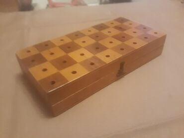Mala kutija za sah ispravna dimenzije - duzina 17 cm sirina 8 c
