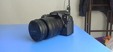 видеокамера panasonic ag ac8ej в Кыргызстан: Panasonic Lumix G. Обьектив не китовский. Покупал отдельно. Поэтому