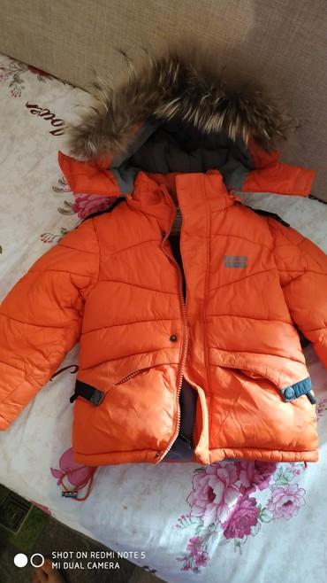 детская куртка зимняя в Кыргызстан: Детская зимняя фирменная куртка на 3-4 года в отличном состоянии