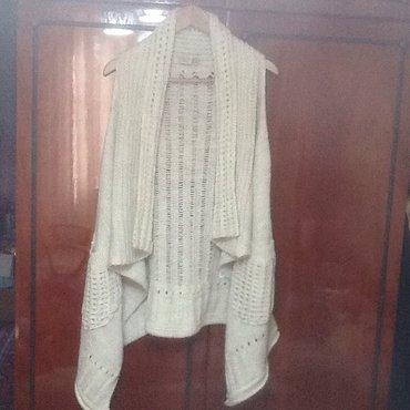 женское платье из турции в Кыргызстан: Продаю женский вязанный жилет Турция, новый. Мягкий, теплый, очень