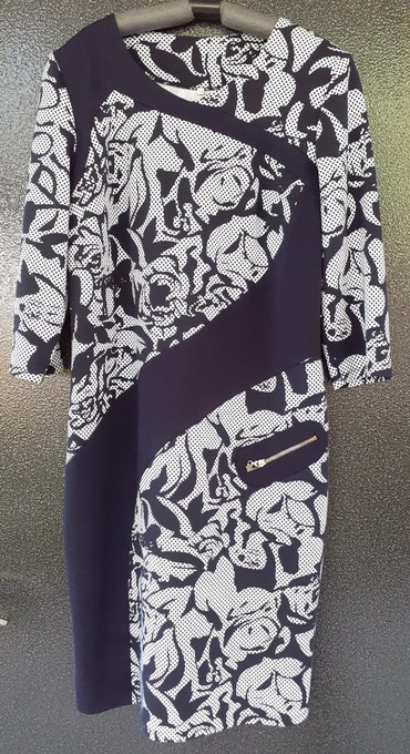 барбери мужская одежда в Кыргызстан: Новая одежда: платье трикотаж, размер 50, местный пошив, 850