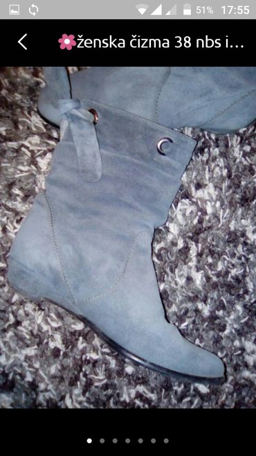 Čizme od izvrnute kože br.38 - Vranje