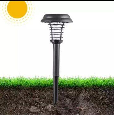 Лампа для комаров без проводов на солнечной энергии для сада
