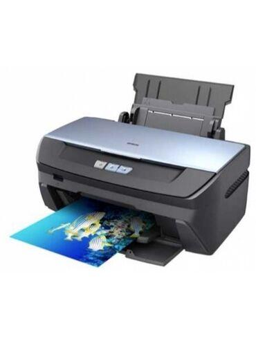 Принтеры - Кыргызстан: 6 цветный фото-принтер Epson R270 Для печати фото, визиток, обложек