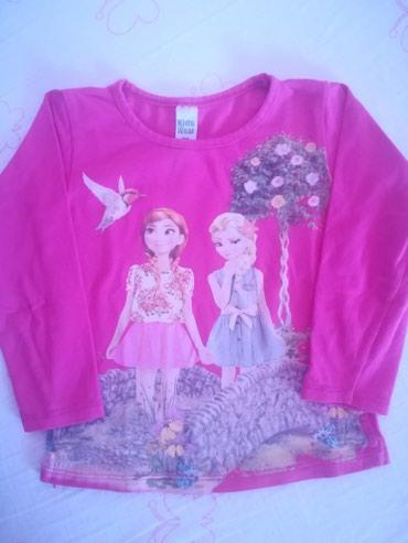 Frozen Elza i Ana bluza mek pamuk, ne ostecena aplikacija, vel 98 - Belgrade