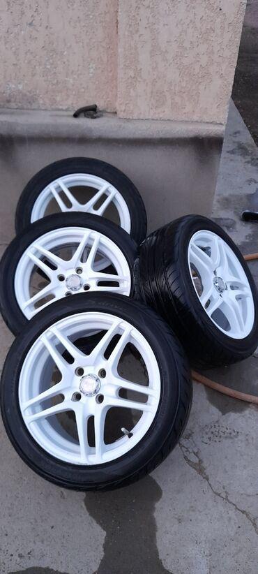 купить литые диски r14 4 98 бу в Кыргызстан: Срочно Продам калесы, R-15 100/98  Торг уместен . состояние колёс