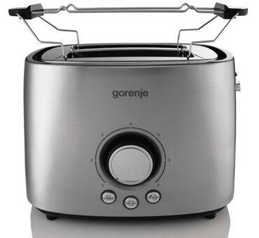 Тостер GORENJE T 1000 E  --мощность нагревателя 1,000 Вт, 7 режимов на