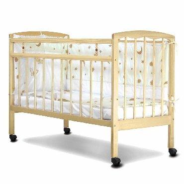 Продаю детский манеж. Кровать новая из дерева. Колеса с блокиратором