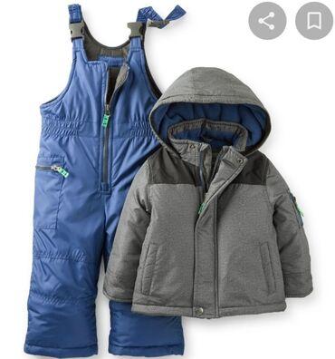 Продаю детский зимний комбинезон и куртку Carter's на 4 года в
