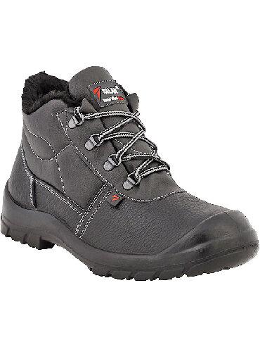 Кожаные утеплёные ботинки ВА412у-2. Мех искусственный. Наши адреса:1